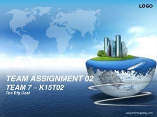 TEAM ASSIGNMENT 02 TEAM 7 � K15T02