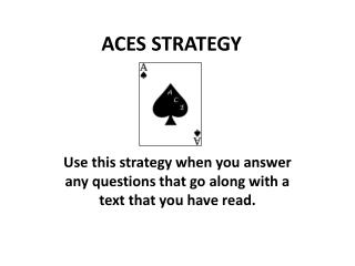 ACES STRATEGY