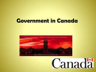 Government in Canada