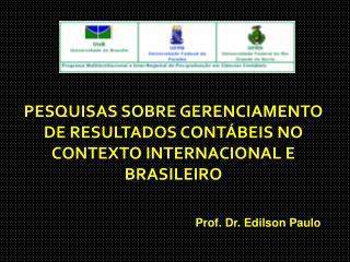 Prof. Dr. Edilson Paulo