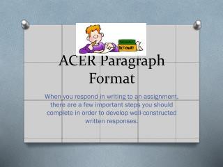 ACER Paragraph Format