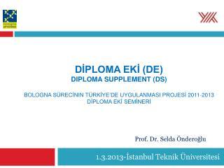 1.3.2013-İstanbul Teknik Üniversitesi
