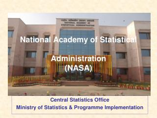 National Academy of Statistical   Administration  NASA