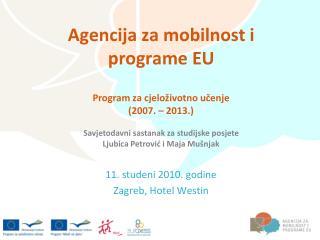 Agencija za mobilnost i programe EU