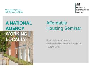 Affordable Housing Seminar