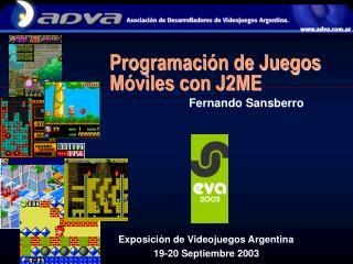 Programación de Juegos Móviles con J2ME