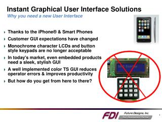 Instant Graphical User Interface Solutions  Why you need a new User Interface