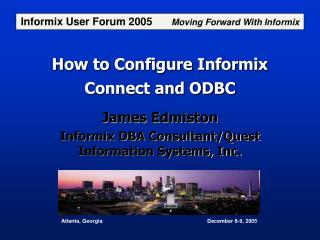 How to Configure Informix Connect and ODBC