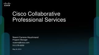 Cisco Collaborative Professional Services