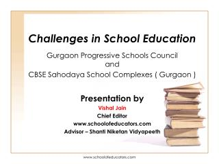 Challenges in School Education