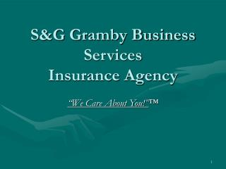 S&G Gramby Business Services Insurance Agency