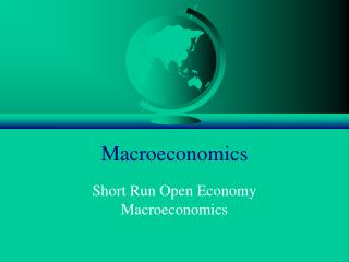 Large Open Economy IS-LM Model