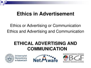 Ethics in Advertisement