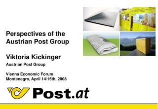 Austrian Post Group – Key Facts