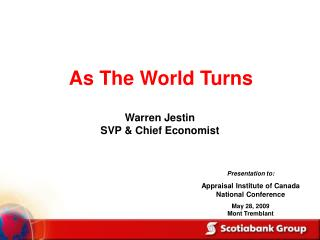 Warren Jestin SVP & Chief Economist