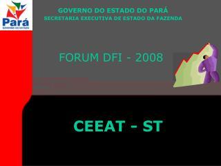FORUM DFI - 2008