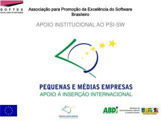 APOIO INSTITUCIONAL AO PSI-SW