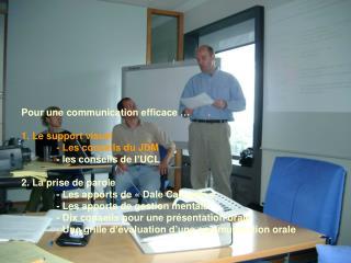 Les conseils du JDM Une présentation PowerPoint en 3 étapes