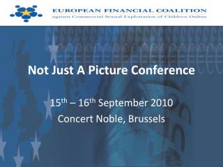 Not Just A Picture Conference