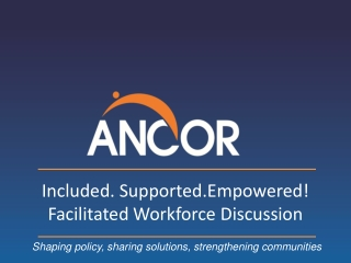 Ohio Council of Behavioral Healthcare Providers  ANNUAL CONFERENCE