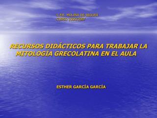 C.P.R. MOLINA DE SEGURA CURSO 2006/2007