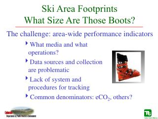 Ski Area Footprints   What Size Are Those Boots?