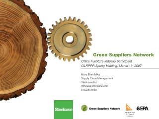 Green Suppliers Network