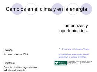Cambios en el clima y en la energía: