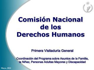 Comisi n Nacional  de los  Derechos Humanos