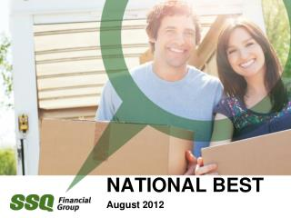 NATIONAL BEST  August 2012