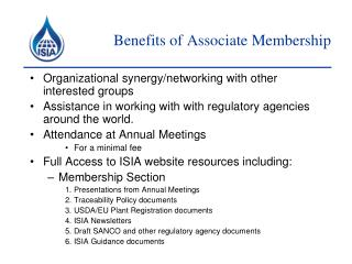 Benefits of Associate Membership