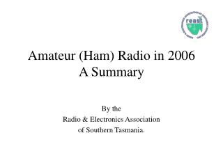 Amateur (Ham) Radio in 2006 A Summary