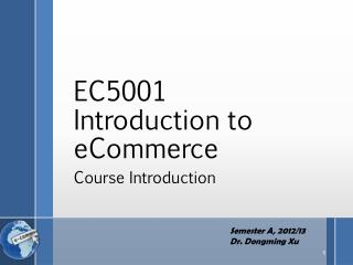 EC5001  Introduction to  eCommerce