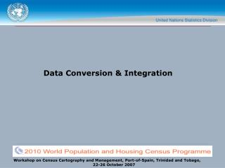 Data Conversion  Integration