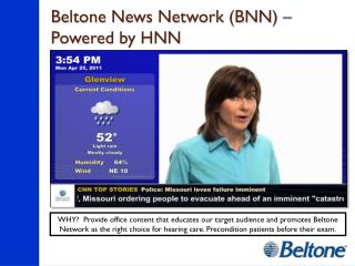 Beltone News  Network (BNN)  –  Powered by HNN