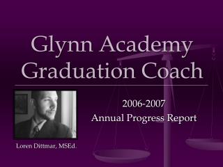 Glynn Academy Graduation Coach