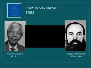 Premio Sakharov    1988