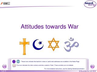 Attitudes towards War