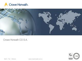 Crowe Horwath CO S.A.