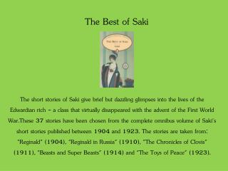 The Best of Saki