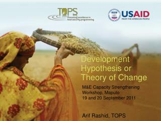 Development Hypothesis or Theory of Change