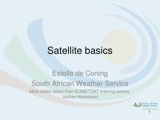 Satellite basics