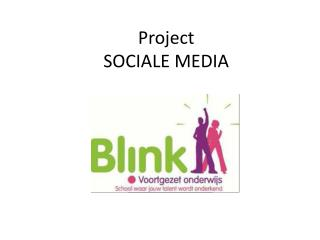 Project SOCIALE MEDIA