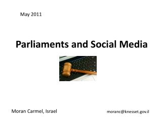 Parliaments and Social Media
