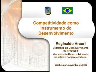 Competitividade como Instrumento do Desenvolvimento