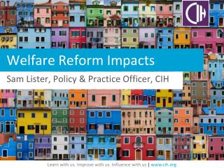 Welfare  Reform Impacts
