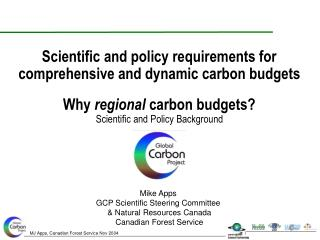 Why  regional  carbon budgets? Scientific and Policy Background