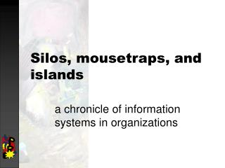 Silos, mousetraps, and islands