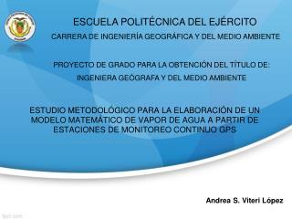 Andrea S. Viteri López