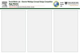 Social Media Lab – Elsevier  WebApp  Concept Design Competition App Name